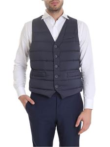 Herno - Legend single-breasted vest in blue