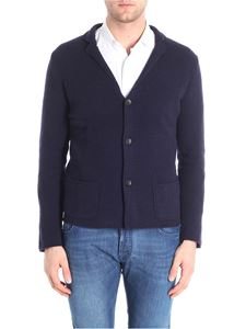 Zanone - Blue virgin wool cardigan