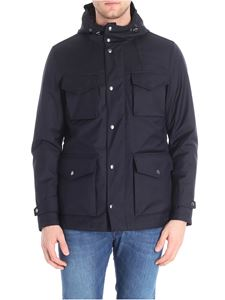 Paul & Shark - Blue Typhoon fabric jacket