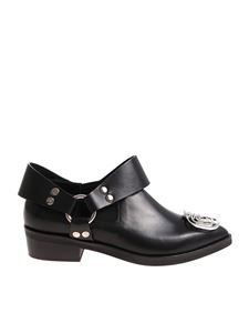 Coliac - Black Ramos pointy shoes