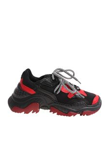 N° 21 - Black and red Chunky sneakers