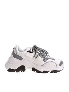N° 21 - White and grey Chunky sneakers