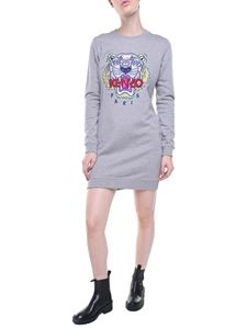 Kenzo - Tiger gray sweat dress