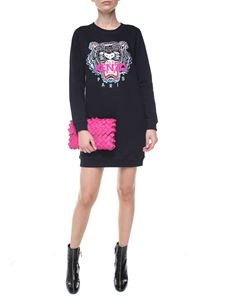 Kenzo - Tiger black sweat dress