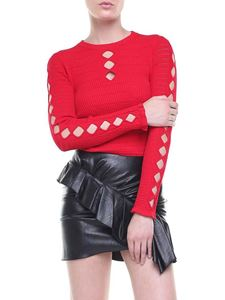 Kenzo - Stretch knitted pullover with cut-outs