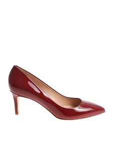 Sergio Levantesi - Glory red leather pumps