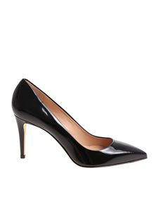 Sergio Levantesi - Black Elly pointy pumps