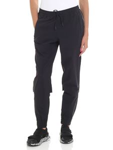Adidas by Stella McCartney - Black jogging pants with side print