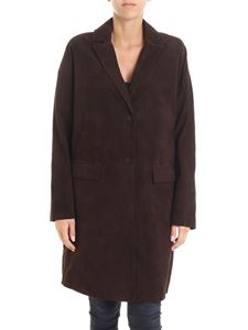 Parosh - Brown suede coat