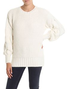 Parosh - Cream-color knitted pullover