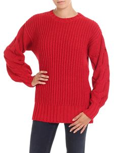Parosh - Red knitted pullover