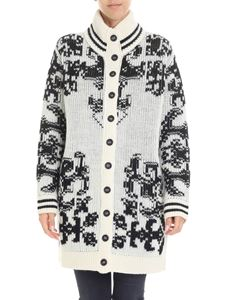 Red Valentino - Black and white cardigan