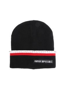 Pinko Uniqueness - Black Amour Impossible beanie