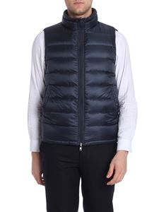 Herno - Reversible blue and green waistcoat