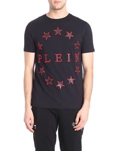 Philipp Plein - Star printed black t-shirt