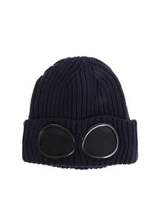 CP Company - Blue Glasses knitted cap