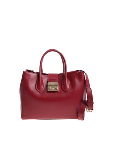 Furla - Cherry red Metropolis medium handbag