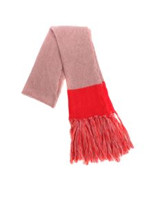 Semicouture - Red Marphie scarf