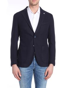 L.B.M. 1911 - Two-button blue wool jacket
