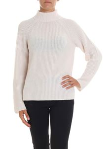 360 Cashmere - Ivory color Maye cashmere pullover