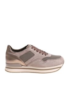 Hogan - Taupe color H222 sneakers