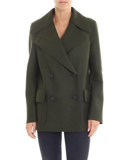 Autunno Harris London doppiopetto Inverno verde Wharf cappotto 1819 qrrBUE61