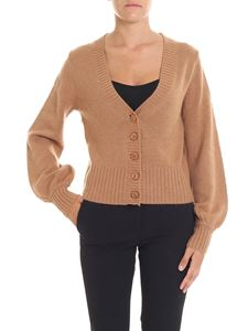 360 Cashmere - Brown cashmere Dasha cardigan