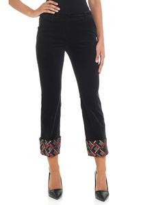 True Royal - Vicky black trousers