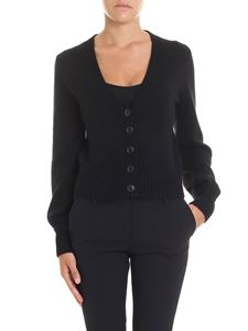 360 Cashmere - Black Dasha cardigan