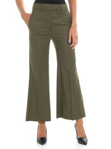True Royal - Nadine army green trousers