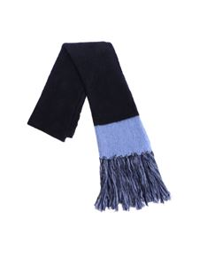 Semicouture - Blue Marphie scarf