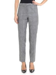 Peserico - Grey Prince of Wales trousers