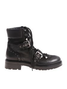 Strategia - Black Boston ankle boots