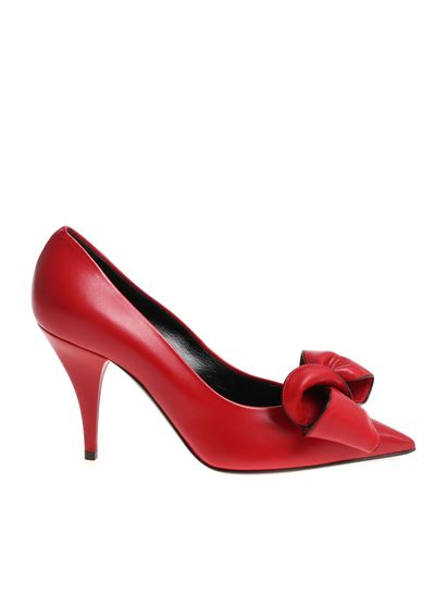 d510e340fe3 Casadei Fall Winter 18 19 red pumps with bow - 1F518L0901X547ET3