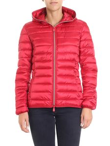 Save the duck - Red padded waisted jacket