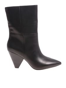 Ash - Black doll ankle boots