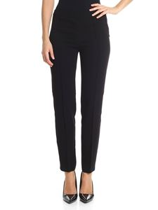 Moschino Boutique - Black trousers with front veins