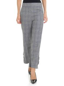 Shirtaporter - Gray check trousers