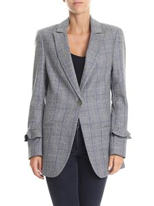 Shirtaporter - Gray check patterned jacket
