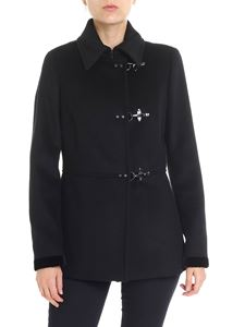 Fay - Black Virginia lined coat