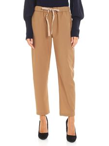 Semicouture - Light brown buddy trousers