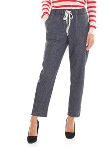 Semicouture - Blue Buddy trousers
