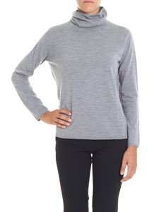 Aspesi - Grey relaxed turtleneck sweater