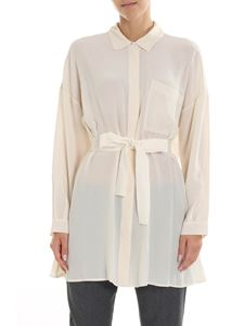 Semicouture - Oddo ivory silk shirt