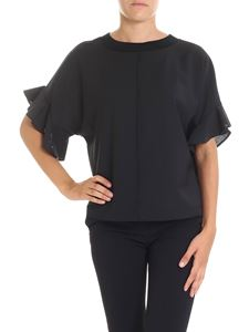 Semicouture - Black Clay blouse