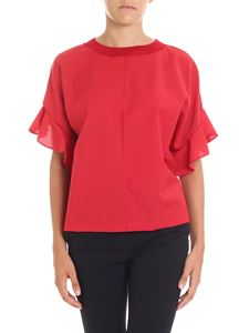 Semicouture - Red Clay blouse