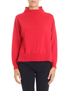 Semicouture - Red overfit pullover
