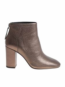 Ash - Bronze colored Joy ankle boots