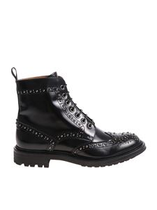 Church's -  Angelina Met 2 Brogue black ankle boots