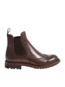 Church's - Brown Aura 2 chelsea brogue ankle boots